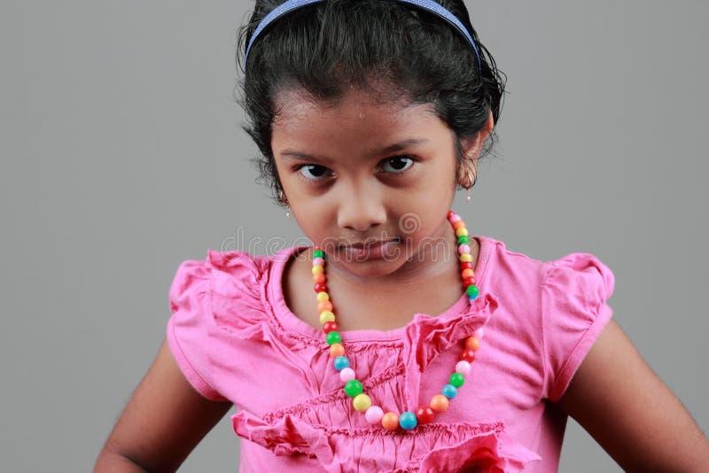 印第安女孩 库存照片