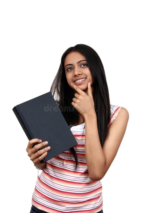 印第安学员年轻人 免版税库存照片