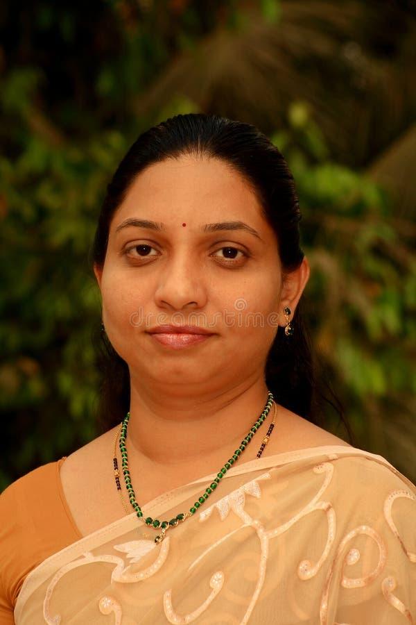 印第安富有的妇女 库存照片