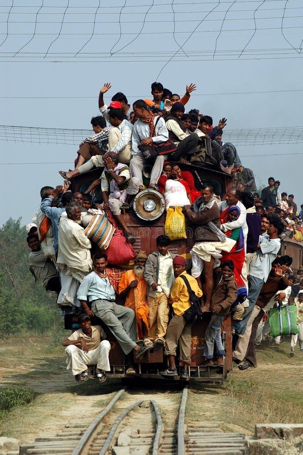 印第安旅途铁路运输 图库摄影