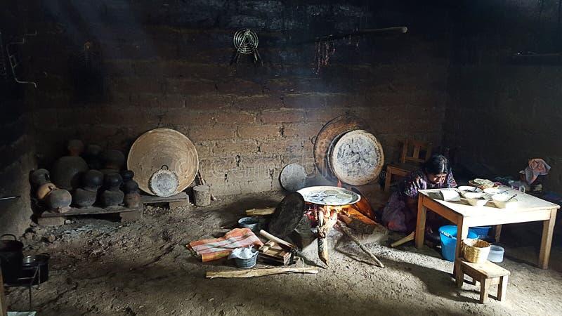 印第安烹调 免版税库存照片