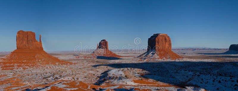 印第安纪念碑那瓦伙族人公园部族谷&# 免版税库存图片
