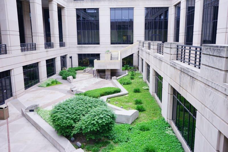 印第安纳政府中心 库存照片