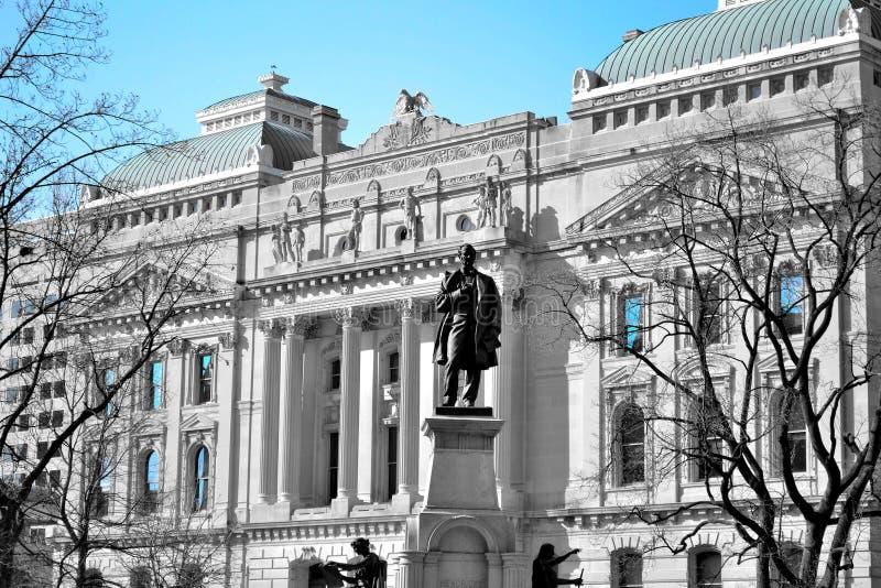 印第安纳首都 库存照片