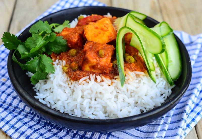印第安膳食素食主义者 免版税库存照片