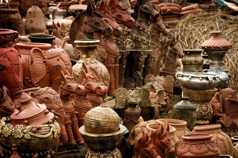 印第安语的工艺品 库存照片