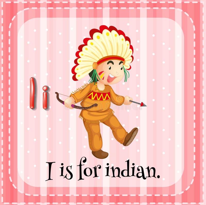 印第安语 向量例证