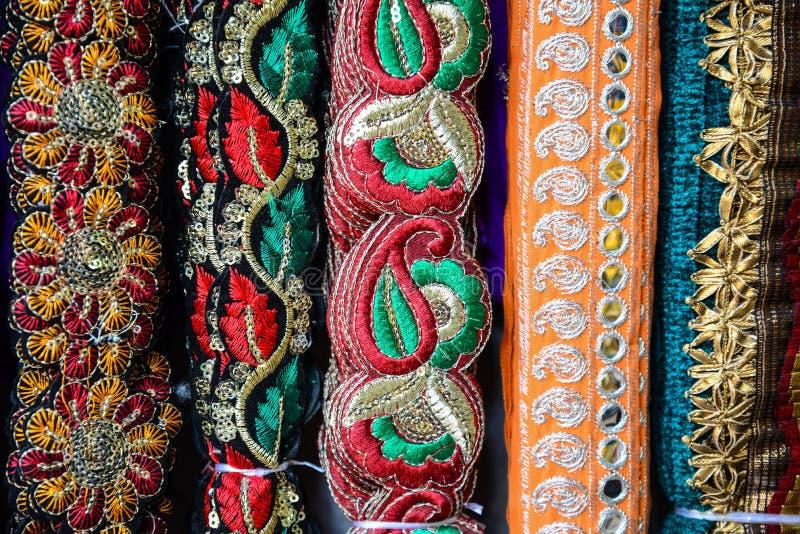 印第安织品 免版税库存图片