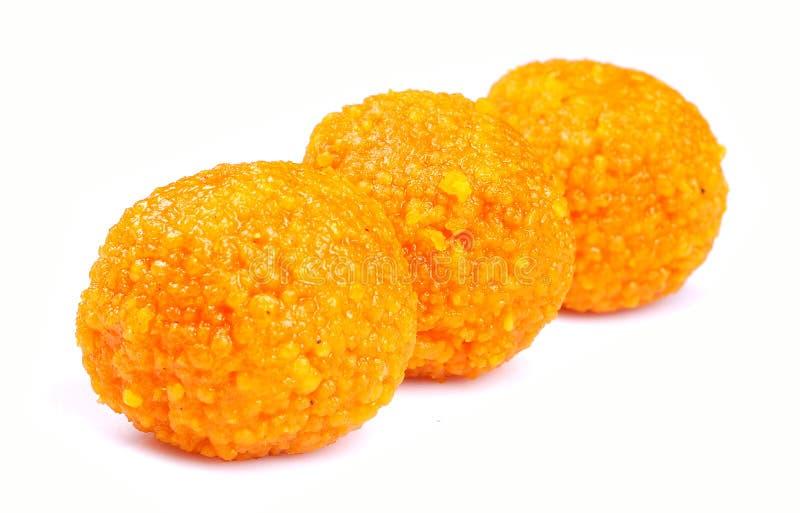 印第安laddoo甜点 库存图片