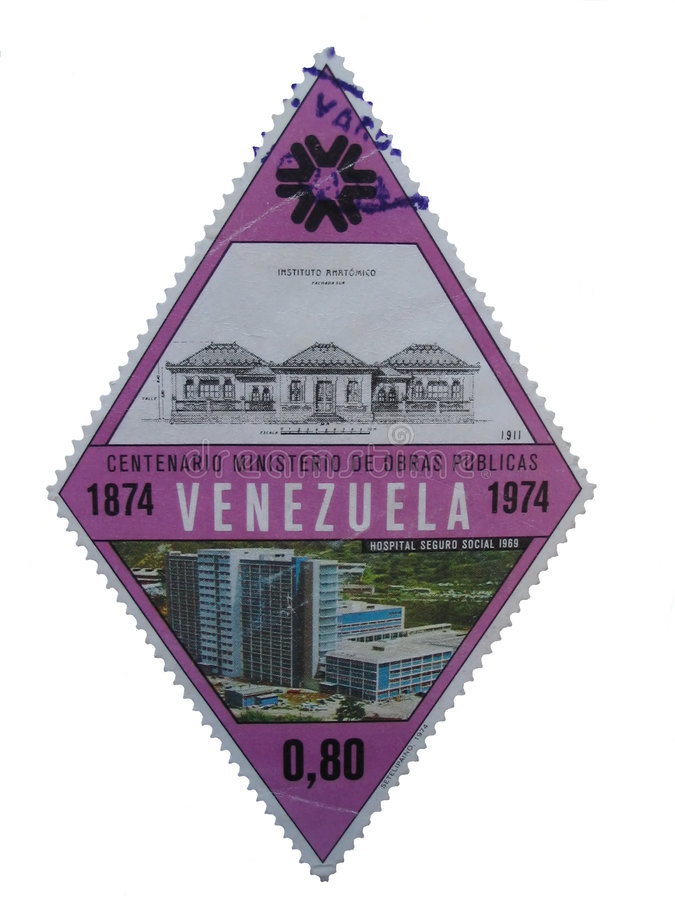 Download 印花税委内瑞拉 库存图片. 图片 包括有 邮费, 粉红色, 凹陷, 孤立, 偶尔, 特写镜头, 布琼布拉, 药商 - 299007