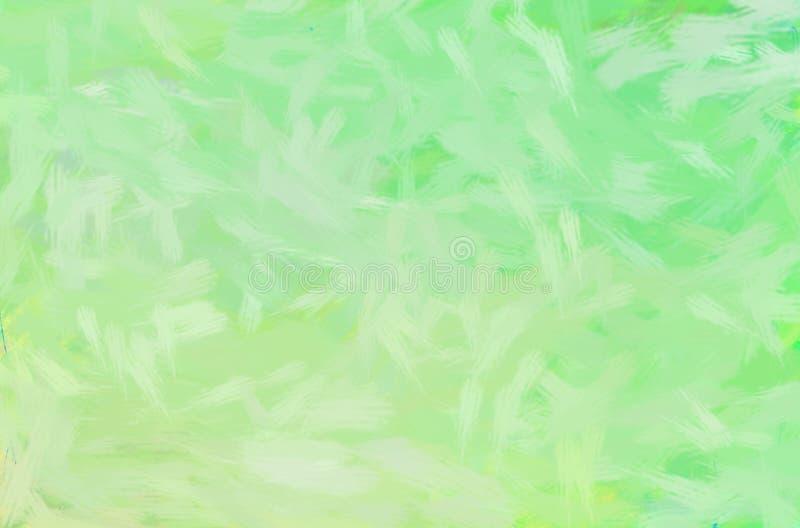印象深刻的织地不很细背景 软的绿叶绘画例证 向量例证