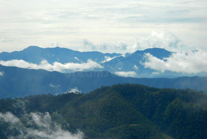 危地马拉小山 免版税库存图片