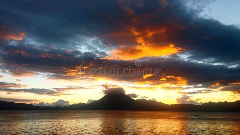 危地马拉风景 免版税库存图片