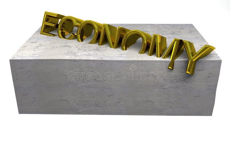 危机经济 向量例证