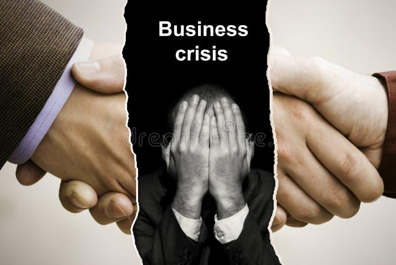 危机 免版税库存图片