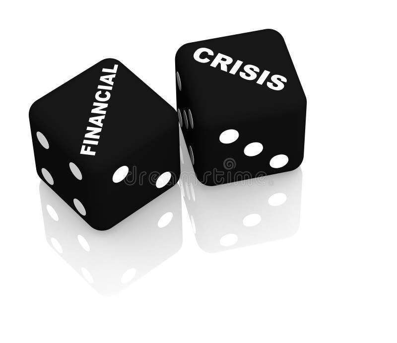 危机 向量例证