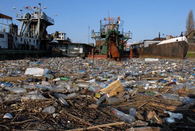 危险垃圾含毒物 库存图片