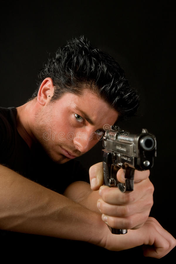 危险武器 免版税库存图片