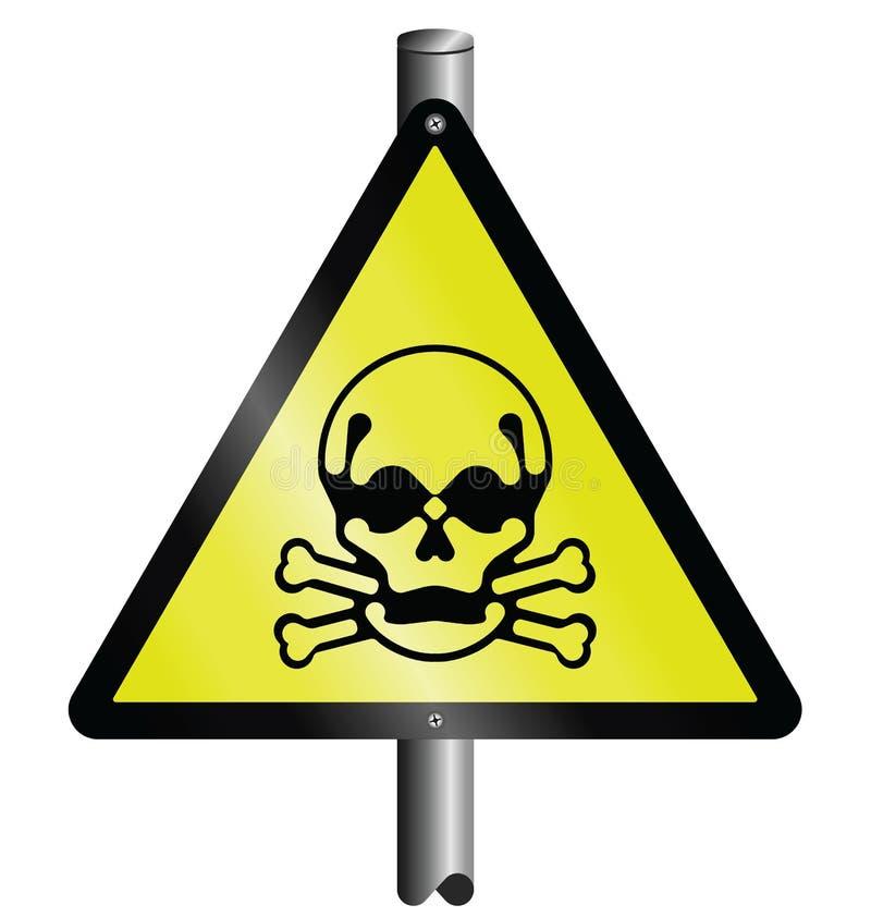 危险等级符号含毒物 皇族释放例证