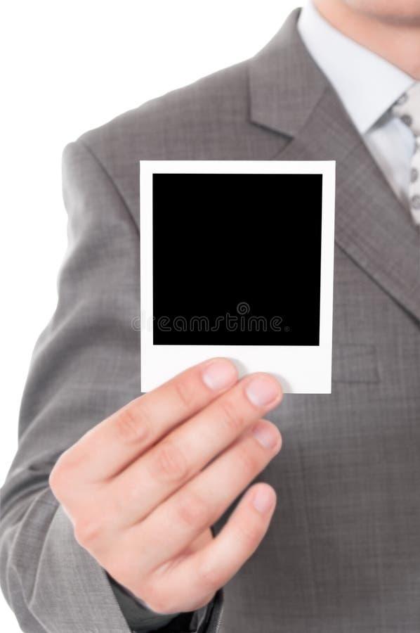 即时照片 库存图片