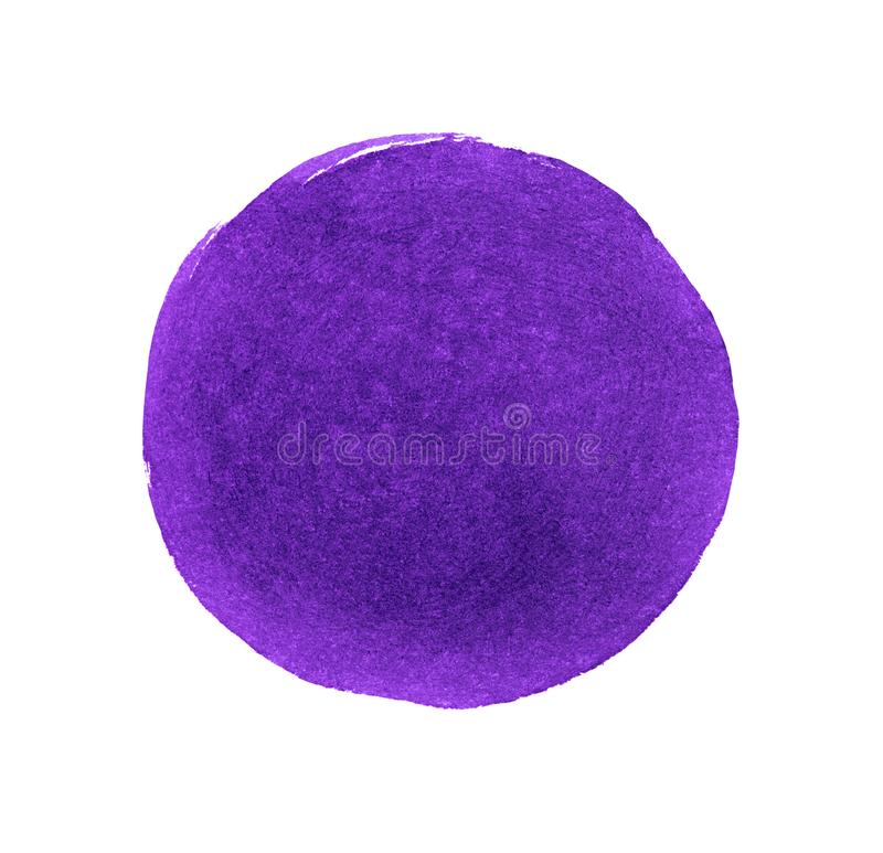 卵形污点,油漆污迹  圆的墨水斑点 库存例证