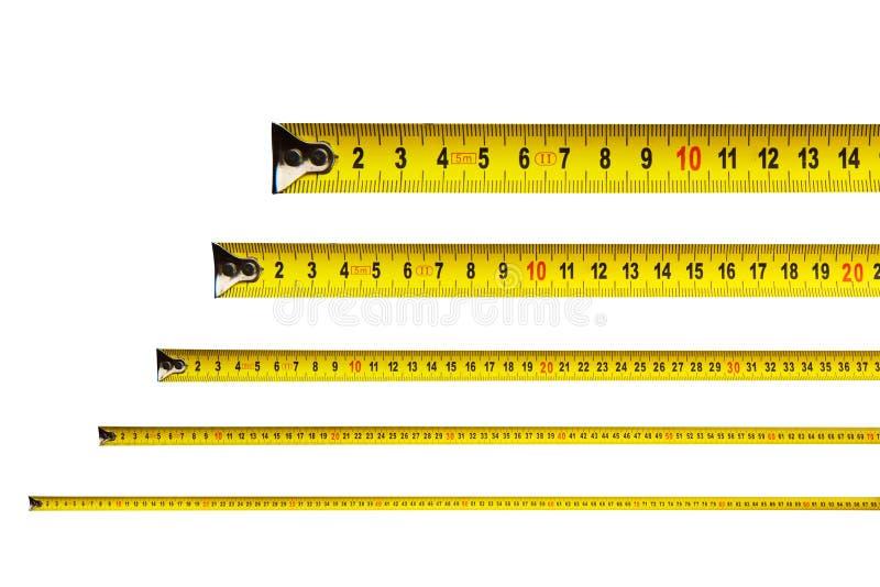 卷尺在厘米 向量例证