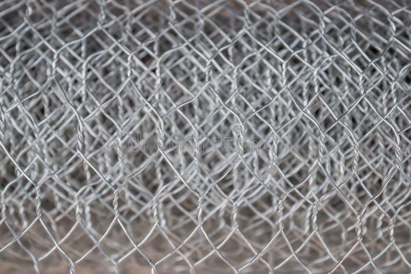 卷钢绳滤网2 免版税库存照片
