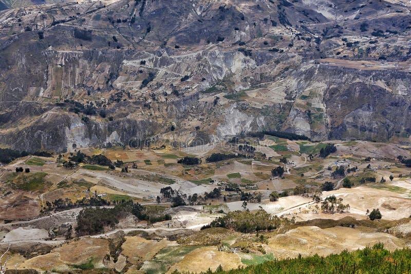 厄瓜多尔乡下 库存图片