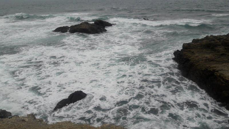 从厄瓜多尔的太平洋 库存图片