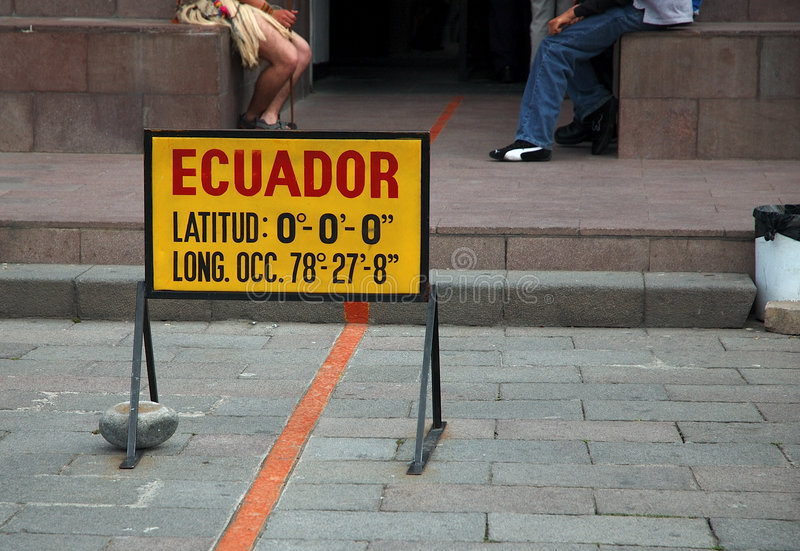 厄瓜多尔 库存照片