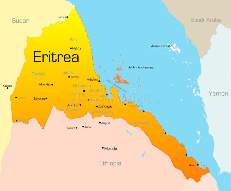 厄立特里亚 皇族释放例证