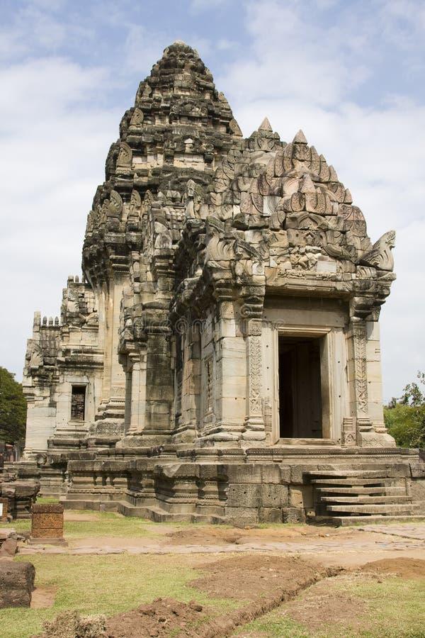历史公园phimai泰国 图库摄影