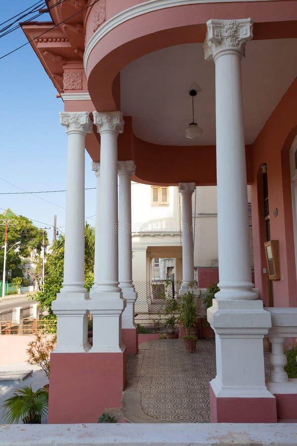 历史古巴建筑学 免版税库存照片