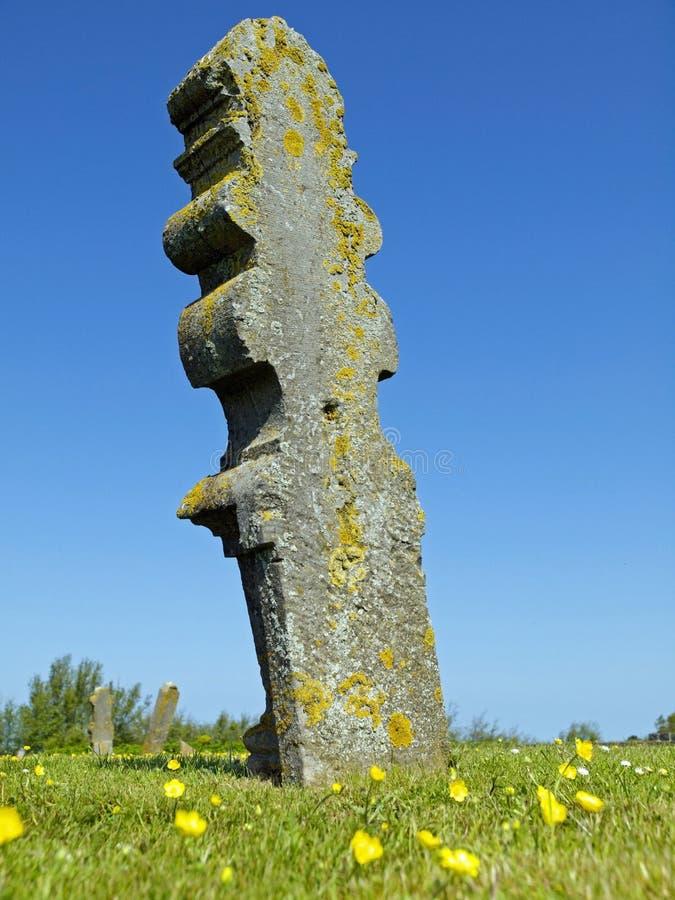 历史坟墓在荷兰 库存照片