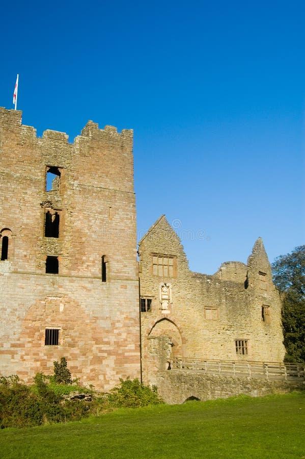 历史城堡 库存图片