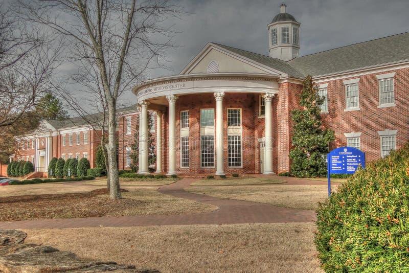 历史大厦和庭院东南的浸礼会教友的 免版税图库摄影