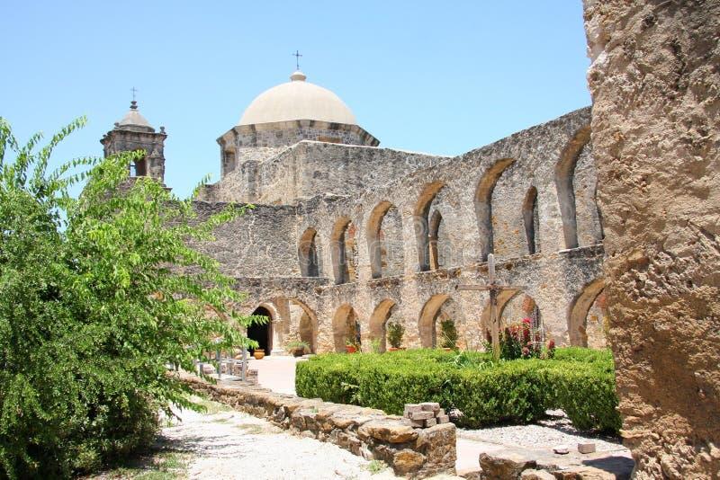 历史建筑任务圣约瑟 免版税库存图片