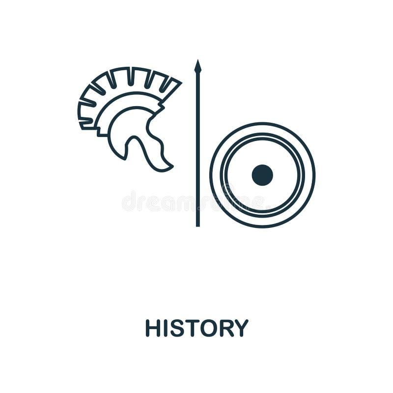 历史概述象 从学校象汇集的创造性的设计 优质历史概述象 对网络设计,应用程序的软件 皇族释放例证