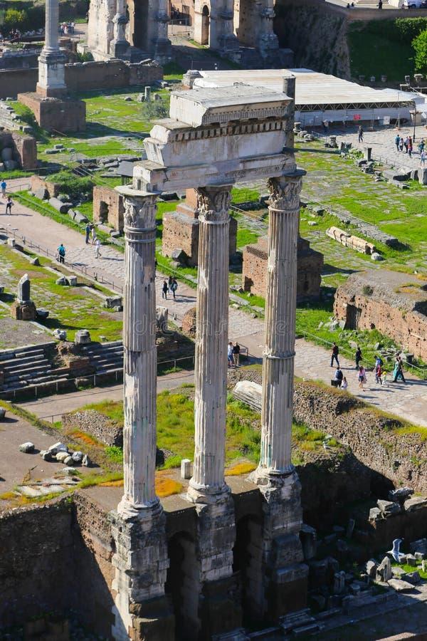 历史的城市罗马-意大利 库存图片