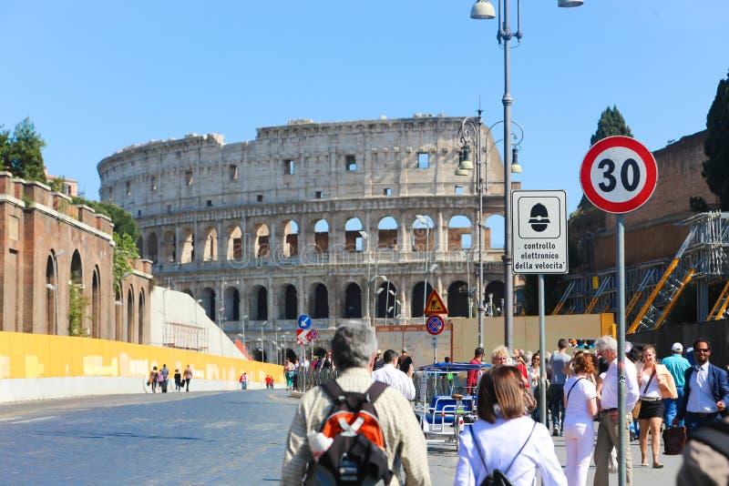 历史的城市罗马-意大利 免版税库存图片