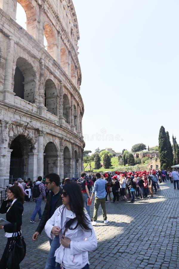 历史的城市罗马-意大利 库存照片