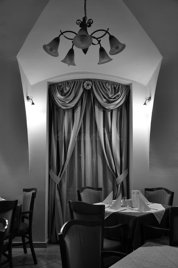 历史的宫殿dinning的室 图库摄影