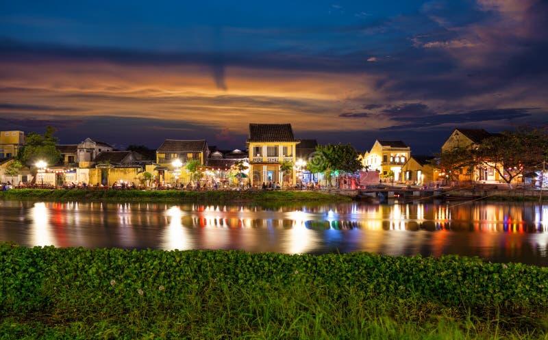 历史的市会安市在越南 库存图片