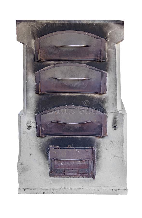 历史的烤箱 免版税库存照片
