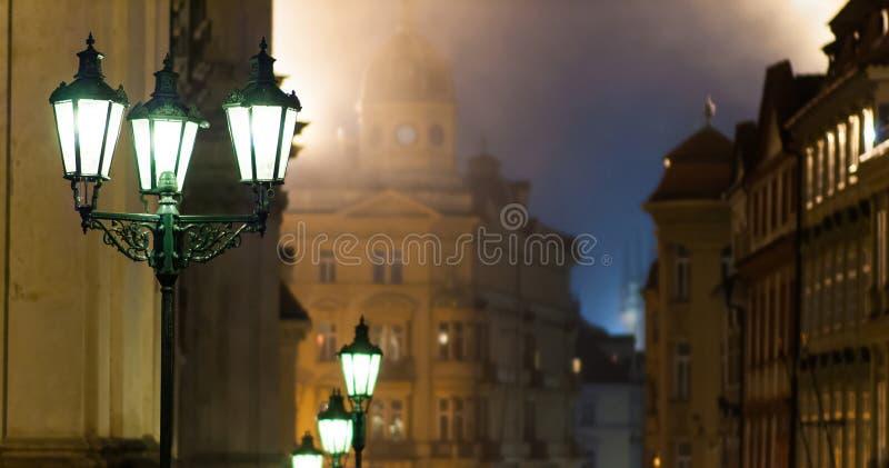 历史的街灯 免版税图库摄影