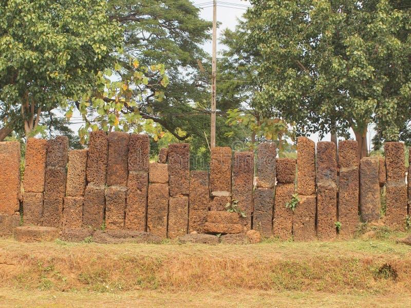 历史的被毁坏的寺庙 库存图片