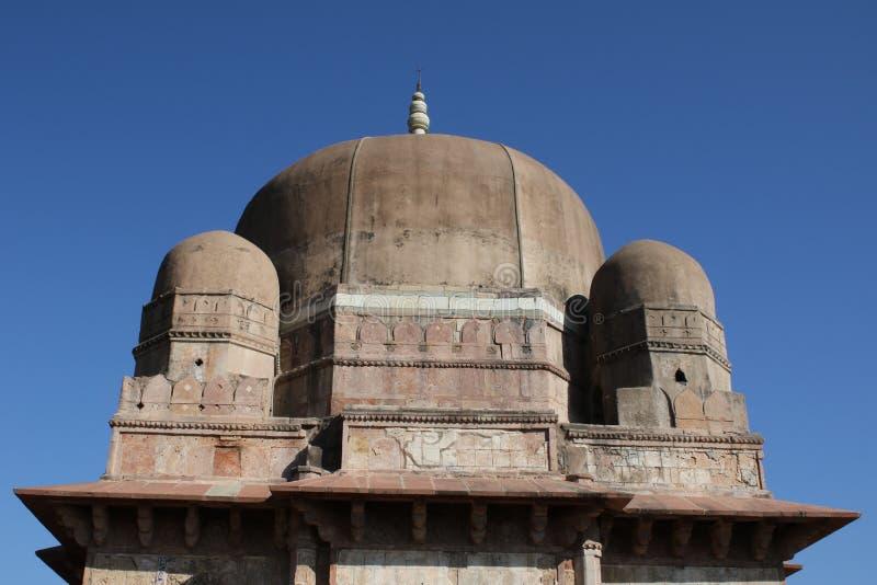 历史的建筑学, darya可汗坟茔 库存图片