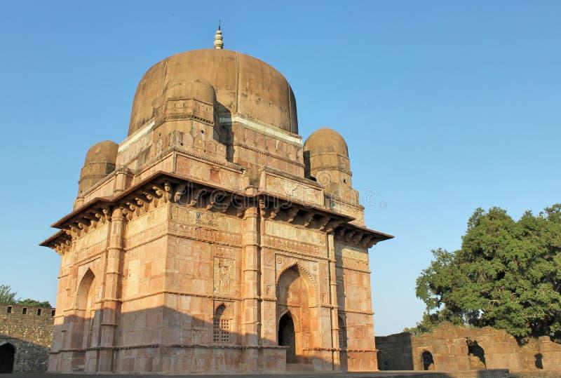 历史的建筑学, darya可汗坟茔 库存照片