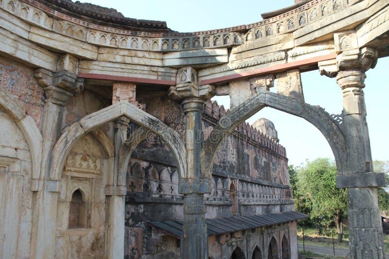 历史的建筑学, malik mughith清真寺 免版税库存图片