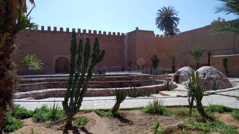 历史纪念碑摩洛哥tiznit 库存照片
